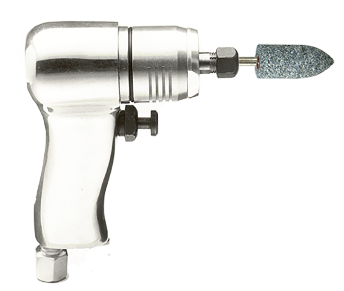 Henrytools Model 40GP Pistol type pneumatic die grinder.